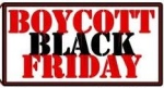Boycott black friday
