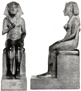imhotep 2 statues